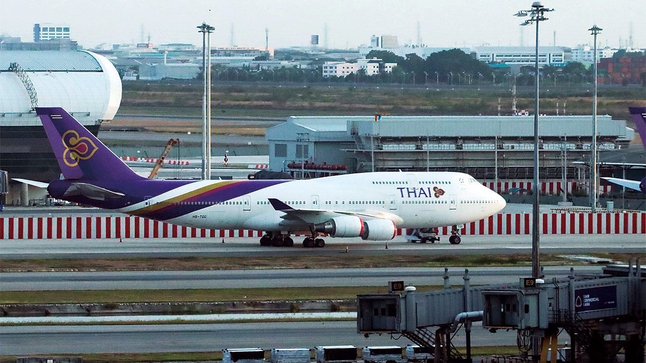 航空 倒産 タイ