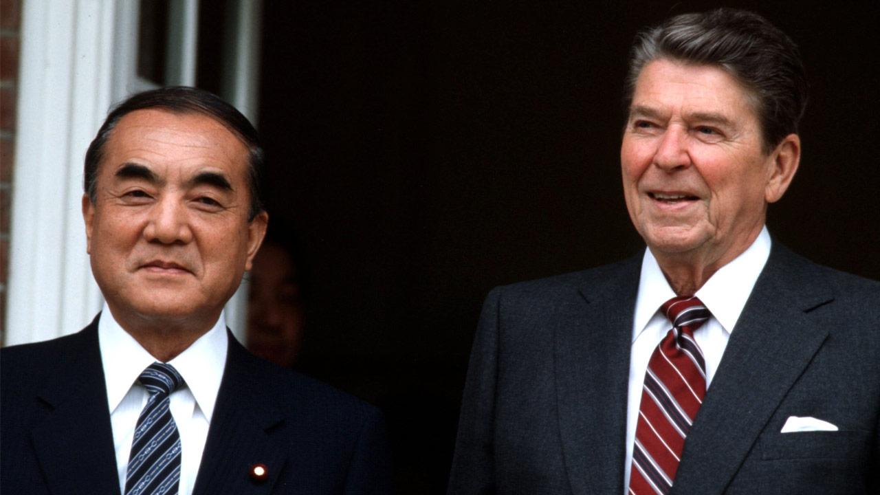 評伝・中曽根康弘、戦後日本外交の頂点を極めた:日経ビジネス電子版